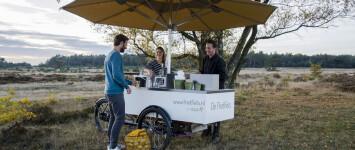 ontmoetingsplek met koffie en limonade bij Wijde AA - voorbeeld_foodfiets